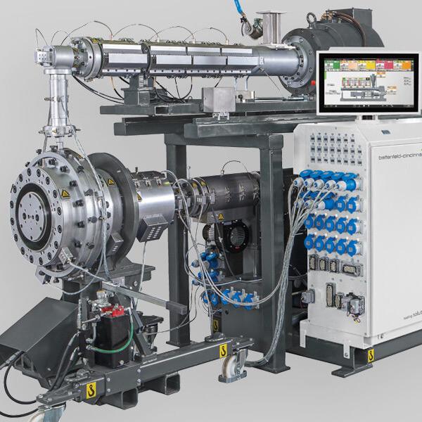 Battenfeld-Cincinatti Extrusion Plastic | GreenTech Machinery