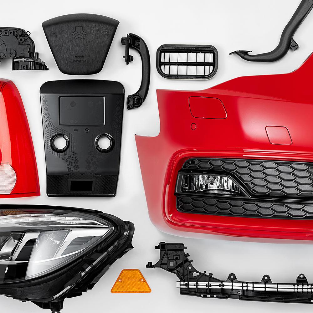 Plastic Automotive Parts Machinery | GreenTech Machinery